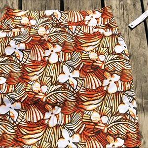 Tribal Floral Skirt NEW 6